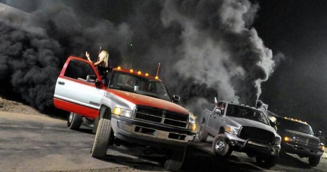 Why is my diesel truck blowing black smoke?