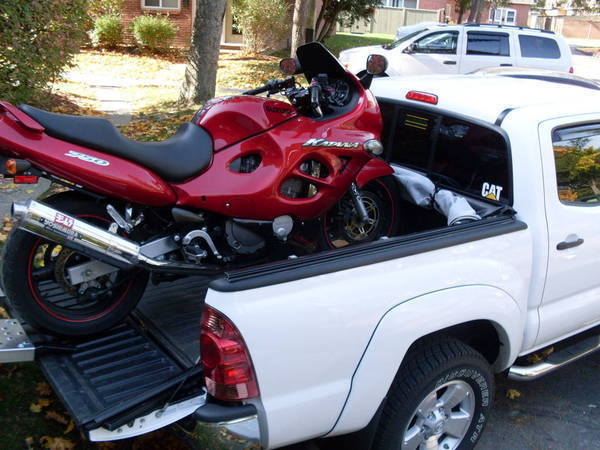 How to Transport Motorcycle in Truck Bed?