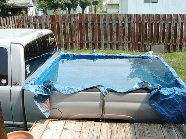 How to Turn Your Truck Bed into a Pool