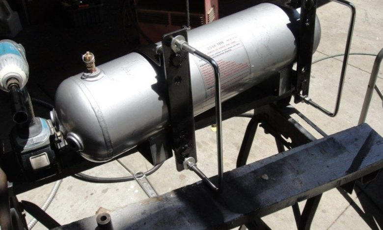 How often should truck air tanks be drained?