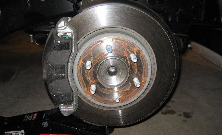 How to Change Front Rotors on Ford F150?
