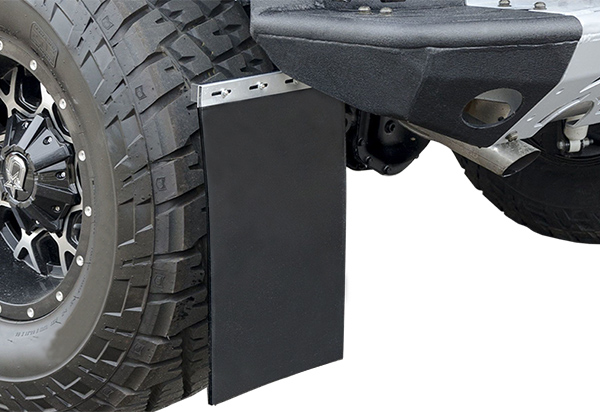 How to Install Mud Flaps on Ford F350?
