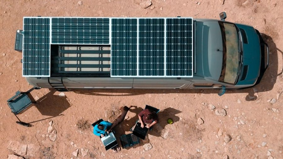 How to Install Solar Panels on Truck Camper?
