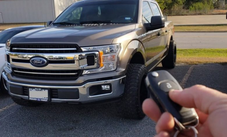 How to Start Ford F150 with Remote