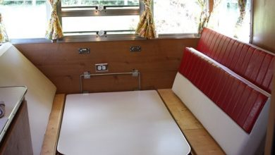 How to Turn a Camper Table into a Bed?