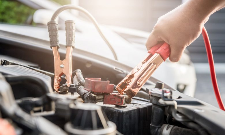 How to jump start a diesel truck with 2 batteries