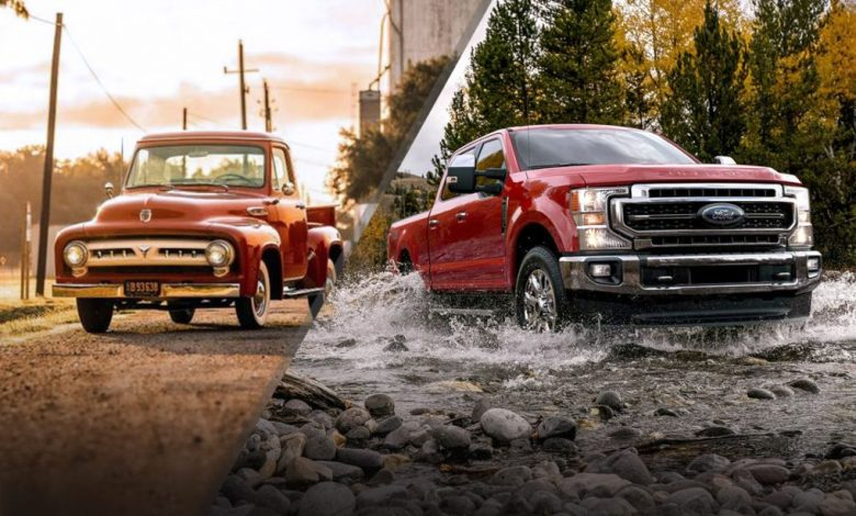 What are the Ford Truck Generations?
