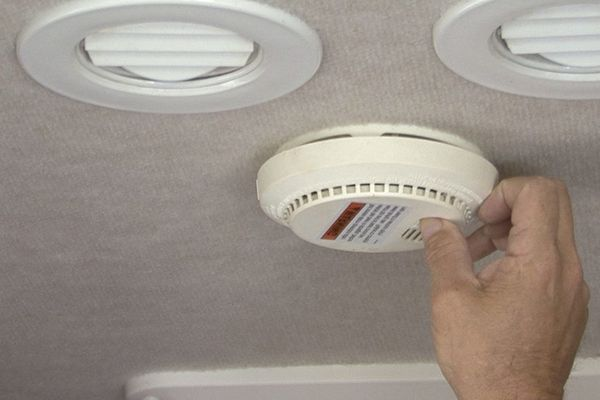 Why is my Camper Carbon Monoxide Detector Beeping?