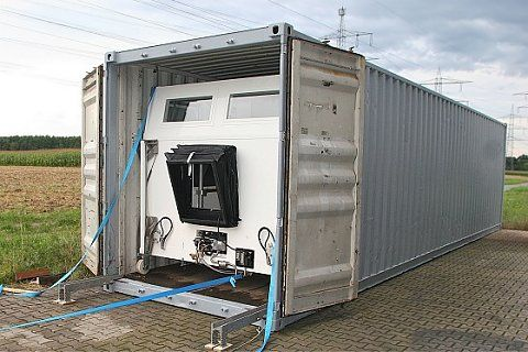 Can an RV Fit in a Shipping Container?