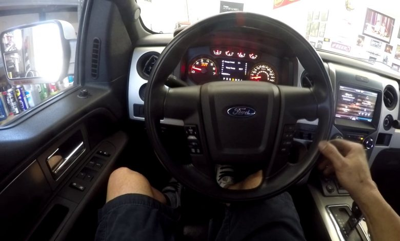 How to Adjust Steering Gear Box on Ford F150?