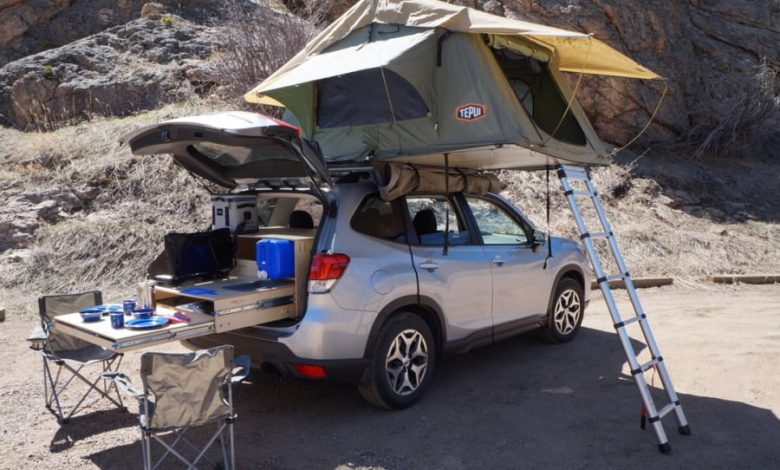 How to Turn a Subaru Forester into a Camper?