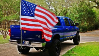 Best Way to Fly a Flag on a Truck?