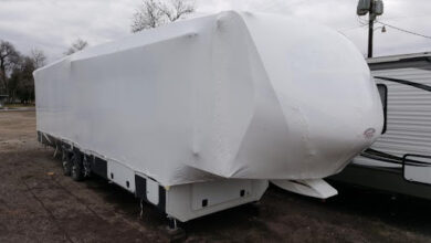 Can You Shrink Wrap an RV?