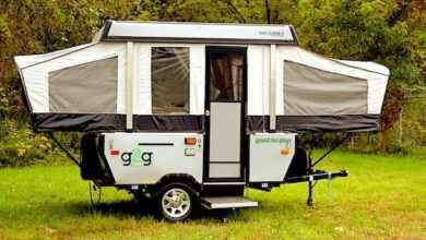 Can a Pop-Up Camper Fit in a Garage?