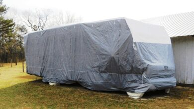 Do RV Covers Keep Water Out?
