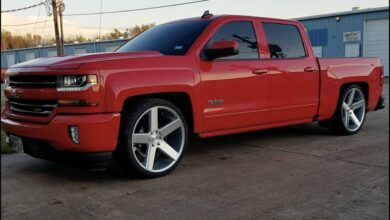 How Low Can You Lower a 4x4 Silverado?