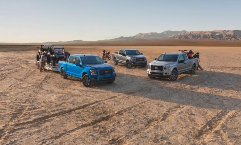 How Many Ford Trucks Were Sold in 2020?