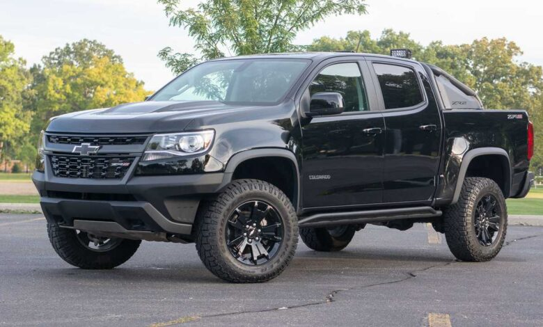 How Much Does a Chevrolet Colorado Weigh?