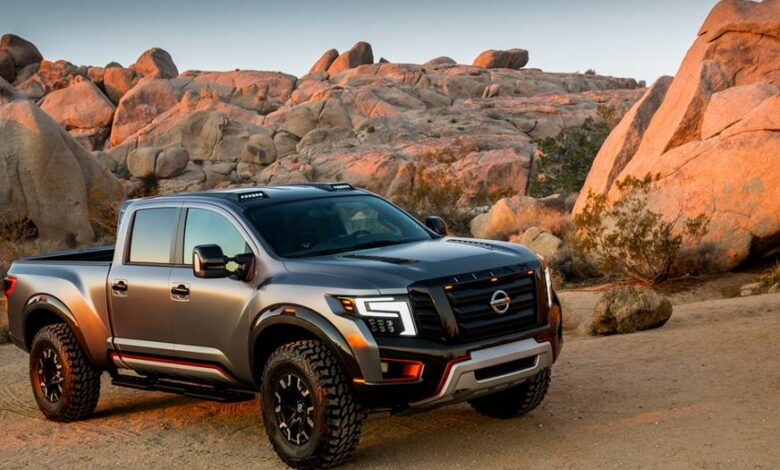 How Much Does a Nissan Titan Weigh?