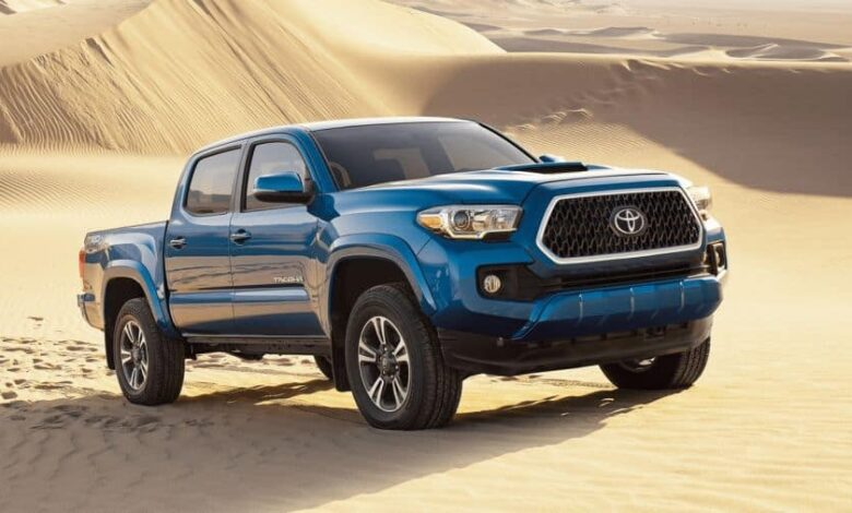 How Much Does a Toyota Tacoma Weigh?