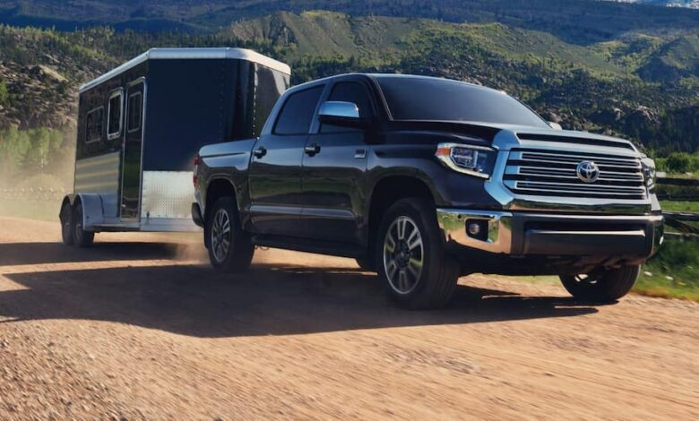 How Much Does a Toyota Tundra Weigh?
