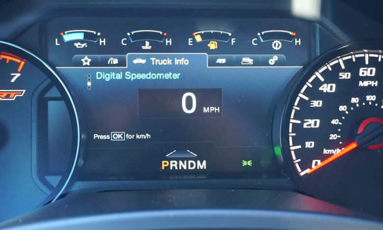 How to Change Odometer from Miles to Kilometers on Ford F150?