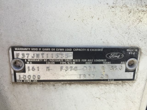 How to Decode a Ford Truck VIN Number?
