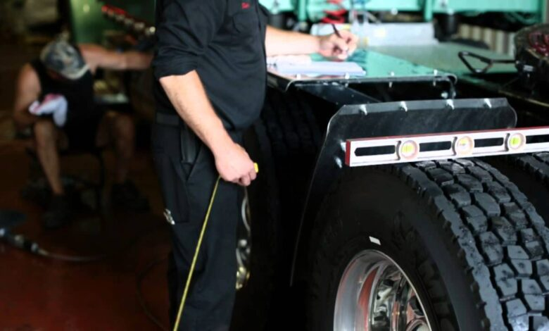 How to Measure Ride Height on a Semi Truck?