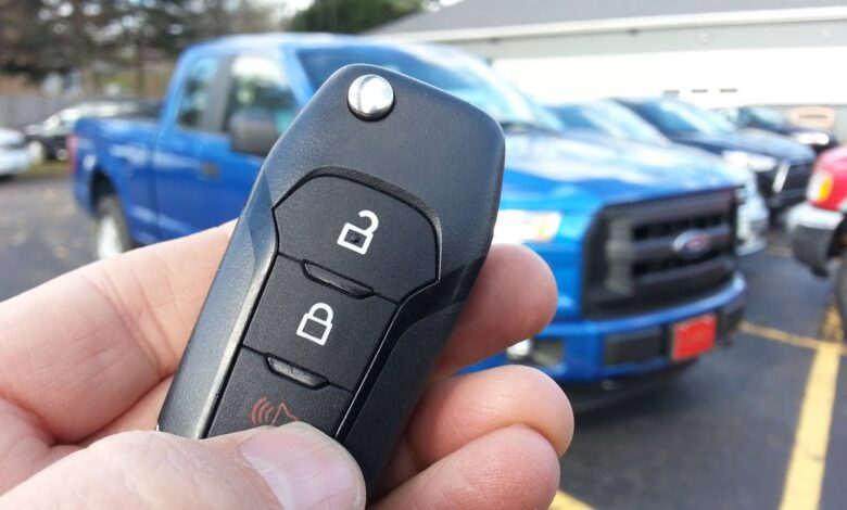 How to Replace Battery of Ford F150 Key Fob?
