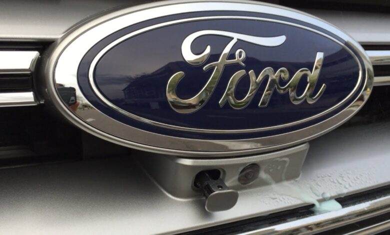 How to Use Front Camera Washer on Ford F150?