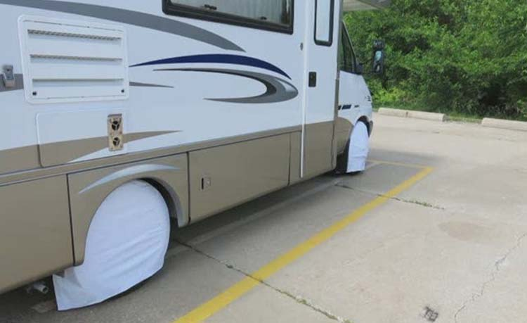 Why Do RV Owners Cover Their Tires?