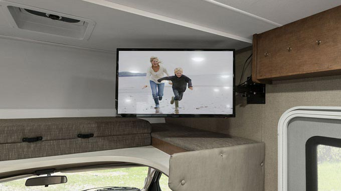 How Do You Mount a Flat Screen TV in an RV?