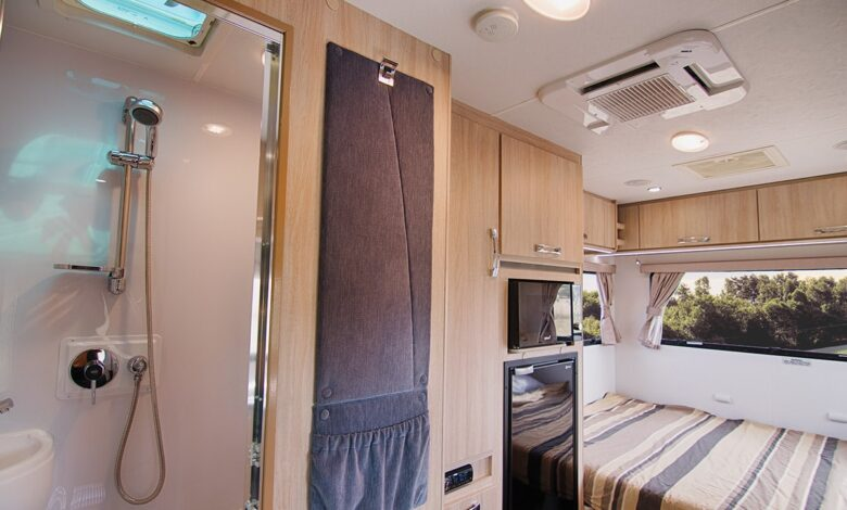 How Does Shower Work in Motorhome?