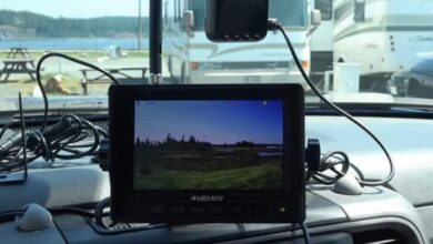 How to Install Wired Backup Camera on Travel Trailer?