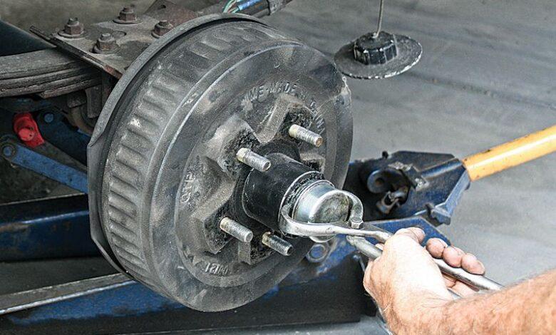 How to Repack Travel Trailer Wheel Bearings?