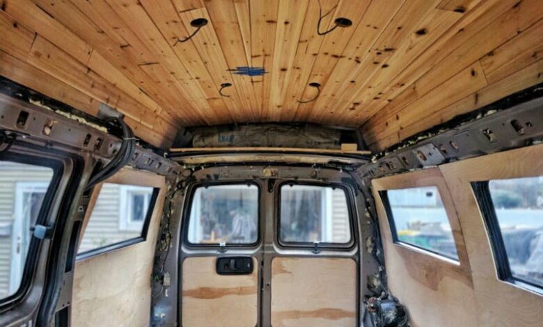 How to Replace RV Ceiling Panels?