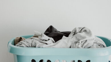 Where to Put Dirty Laundry in RV?