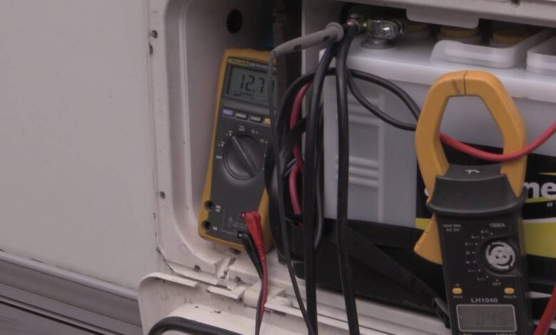 Why Does My Motorhome Battery Go Flat?