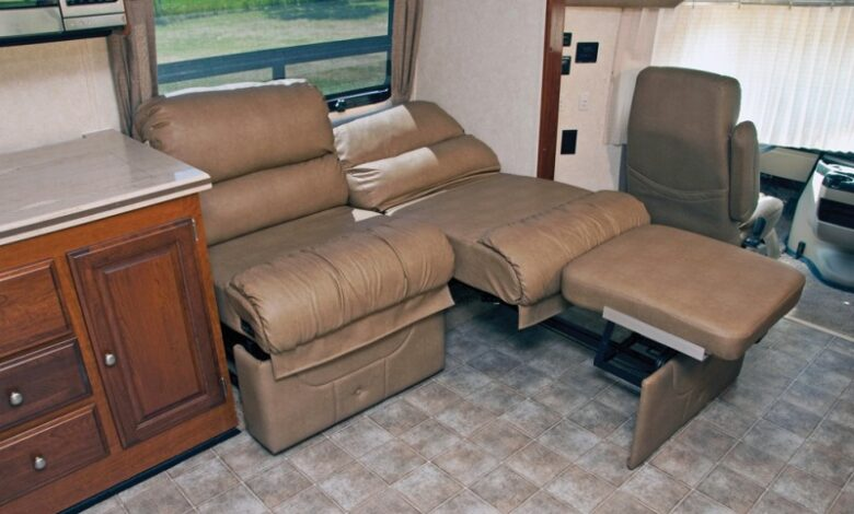 Can You Replace RV Furniture With Regular Furniture?