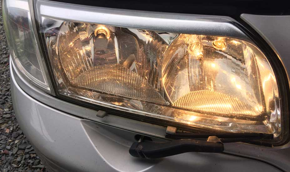 How to Align Headlights on a Class A Motorhome?