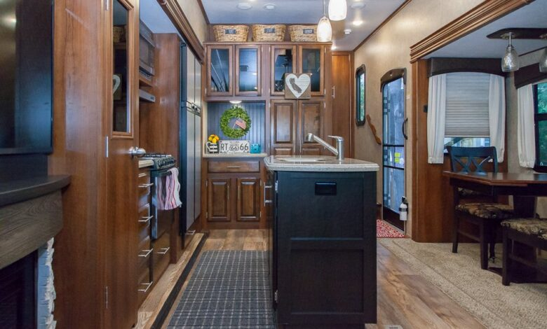 How to Organize RV Kitchen Cabinets?