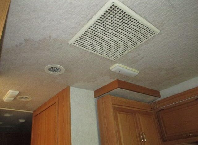 How to Replace RV Ceiling Fabric?