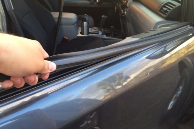 How to Replace Weather Stripping Around Truck Door?