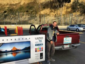 How to Transport a TV in a Truck Bed?