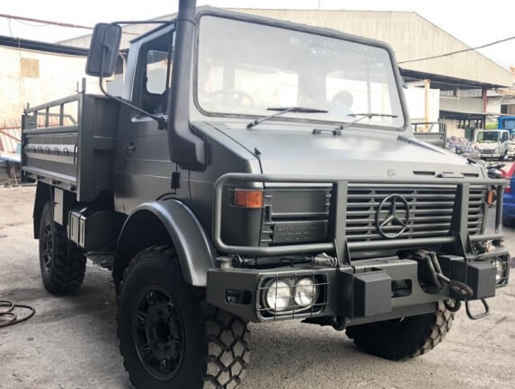 Can You Buy a Mercedes-Benz Unimog in United States?