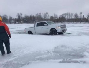 How Thick Should Ice Be to Drive a Truck On?