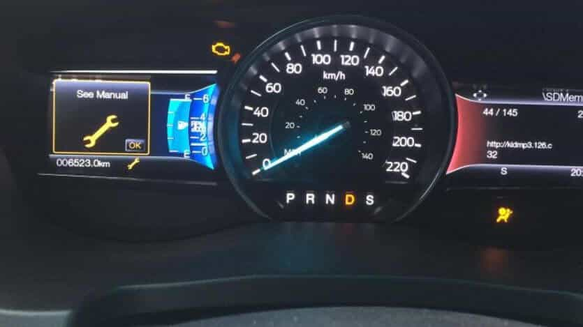 What Does the Wrench Light Mean on a Ford F150?