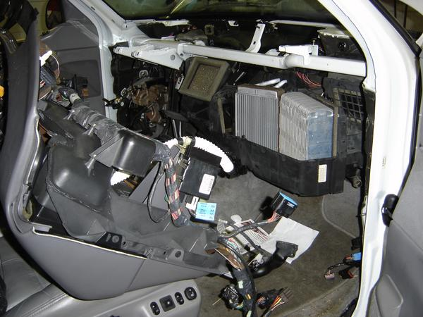 How to Reset Blend Door Actuator on Ford F150?
