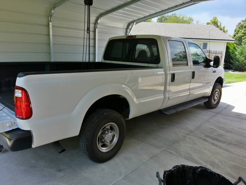 What Year Ford F-250 Truck Beds Interchange?