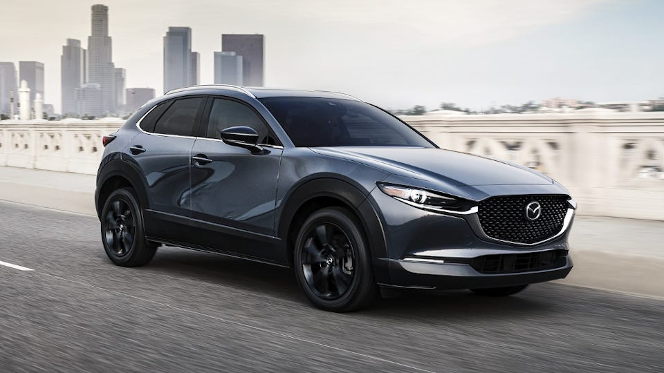 How Much Does a Mazda CX-30 Weigh?